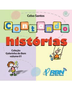 CD - Contando Histórias - Celso Santos
